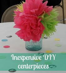 party centerpieces cheap diy party centerpieces lovely etc