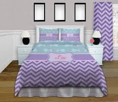 Teal And Purple Comforter Sets The Teal Bedding With Fish Is Oh So Cute Chevron Purple Bedding