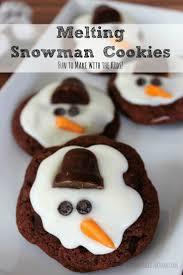 winter snacks 15 snowman cookies treats and ideas