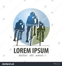 cycling vector logo design template sports stock vector 247590232