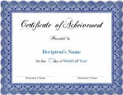 doc 776600 free award templates for word u2013 attendance