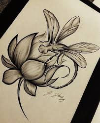 17 best lotus flower with butterfly and dragonfly images on