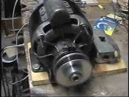 old general electric 1 3hp motor youtube