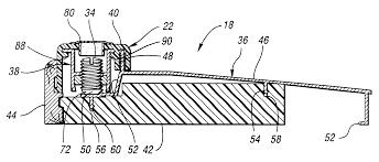Exterior Door Seals Thresholds by Patent Us6345477 Door Sill Assembly Having Adjustable Threshold