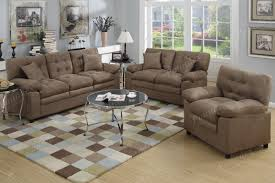 3 Pc Living Room Set Sofa Loveseat U0026 Chair 3pc Sofa Set In 4 Colors Microfiber Living