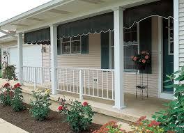 wood porch columns and railings home design ideas
