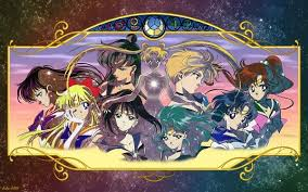 sailor moon group wallpaper sailor moon more pretty soldiers than you can shake a wand at my
