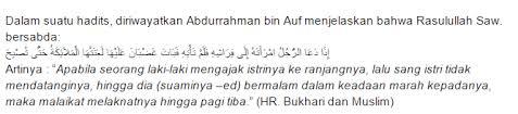 kewajiban istri yang menjadi hak suami dalam islam warohmah