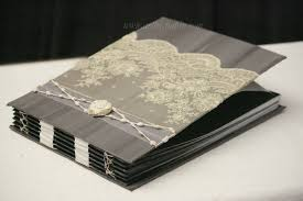 Custom Wedding Albums New Slate Gray Photo Album With Black Paper Wedding Album