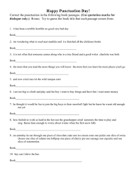 grade 4 punctuation lessons tes teach