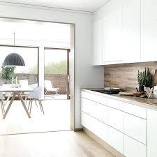 cuisine blanche plan de travail bois plan de travail bois cuisine cuisine blanche avec plan de travail en