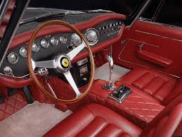 ferrari pininfarina sergio interior i think if i had an interior like this i would never get out of my
