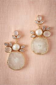 wedding earrings drop druzy drop earrings pearl in sale bhldn