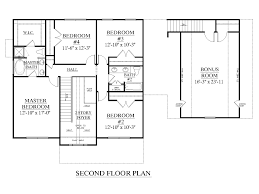 2nd floor house plan houseplans biz house plan 2958 c the barnwell c w garage