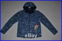 the north face men thermoball hoodie shady blue m medium brand new