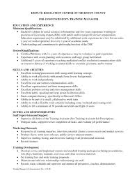 Training Resume Examples by Training Coordinator Resume Cover Letter Training Coordinator