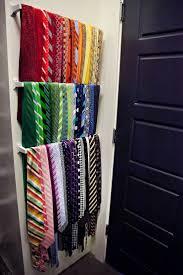 Ideas For Wall Mounted Tie Rack Design Adding Tie Storage Tie Storage Tie Organization And Organizations