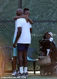 venus williams has a young new fan as her father 71 brings his
