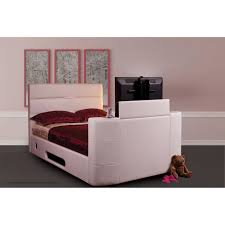 sweet dreams vivaldi surround sound tv bed frame faux leather