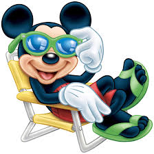 mickey mouse with sunglasses transparent png clip art image