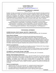 Sample Human Resource Manager Resume Human Resources Manager Resume Free Resume Example And Writing