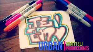 imagenes para dibujar letras graffitis galeria de dibujo letras graffitis faciles para hacer youtube
