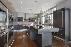 kitchen island contemporary contemporary kitchen with kitchen island by home stratosphere