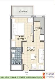 1bhk floor plan floor plan osho real estate standford sunrise city at neemrana