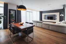 apartment interior small apartment decorating ideas furniture full size of apartmentrniture small pleasant oak wood flooring in feat modern dining units under hanging