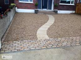 contemporary design gravel driveways picturesque new gravel