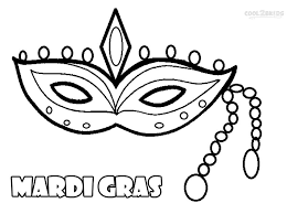 printable mardi gras coloring pages kids cool2bkids