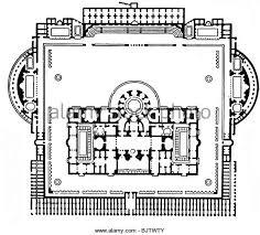 baths of caracalla floor plan reconstruction of the roman baths stock photos reconstruction of