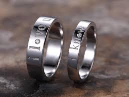 silver wedding ring sets 2pcs bridal wedding ring set 925 sterling silver wedding band