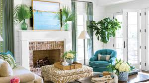 southern living living rooms home art interior