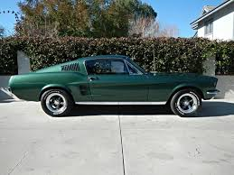 pictures of 1967 mustang fastback green 1967 ford mustang fastback for sale mcg marketplace