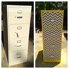 Upcycled Filing Cabinet Upcycle Filing Cabinet Using Spray Paint Fabric And Modge Podge