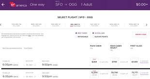 virgin baggage fee how to book award flights with virgin america