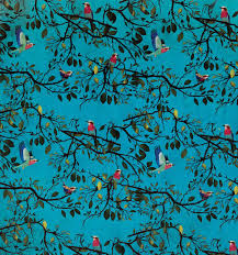 turquoise wrapping paper bird wrapping paper the paperdashery gift wrap