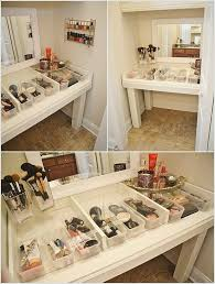 Bathroom Vanity With Makeup Station Makeup Table Ideas Table Design And Table Ideas