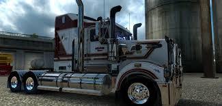 kenwood truck dealer selman bros skin for the kenworth t908 american truck simulator