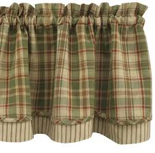 Brown Gingham Curtains Lovable Blue Plaid Kitchen Curtains Decorating With Navy Blue