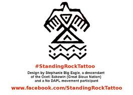 in support of standing rock fundraiser eye of the tiger