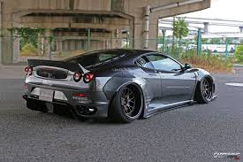 subaru liberty walk ferrari f430 liberty walk rear