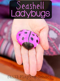 ladybug crafts and activities for kids still playing