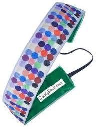sweaty band sweaty band fitness headband watercolors purple 1 wide