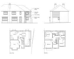 floor plans for houses uk architectural plans loft conversion house extension uk basement 03