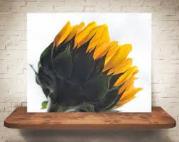 Sunflower Home Decor Sunflower Girls Art Etsy