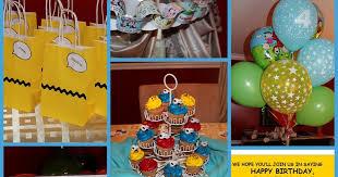 harris sisters girltalk charlie brown birthday party