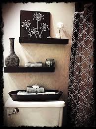 wall decor for bathroom wall shelves