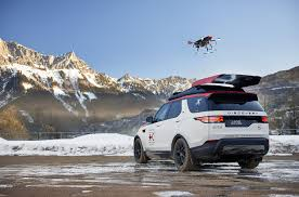 land rover discovery camping search u0026 rescue land rover deploys drone from roof